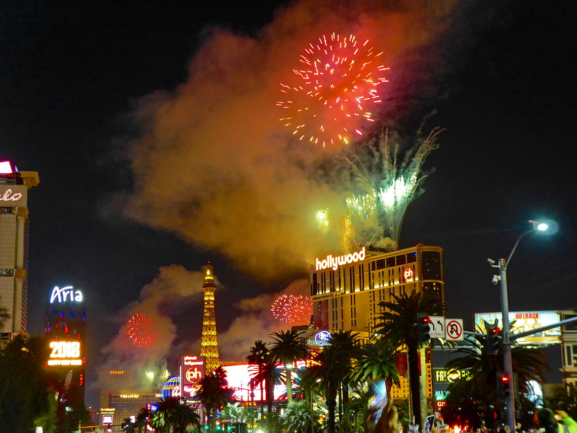 Happy New Year Las Vegas!