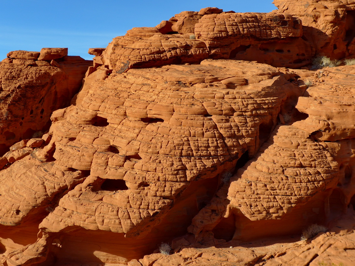 Face in the redstone (Redstone Dune Trail)