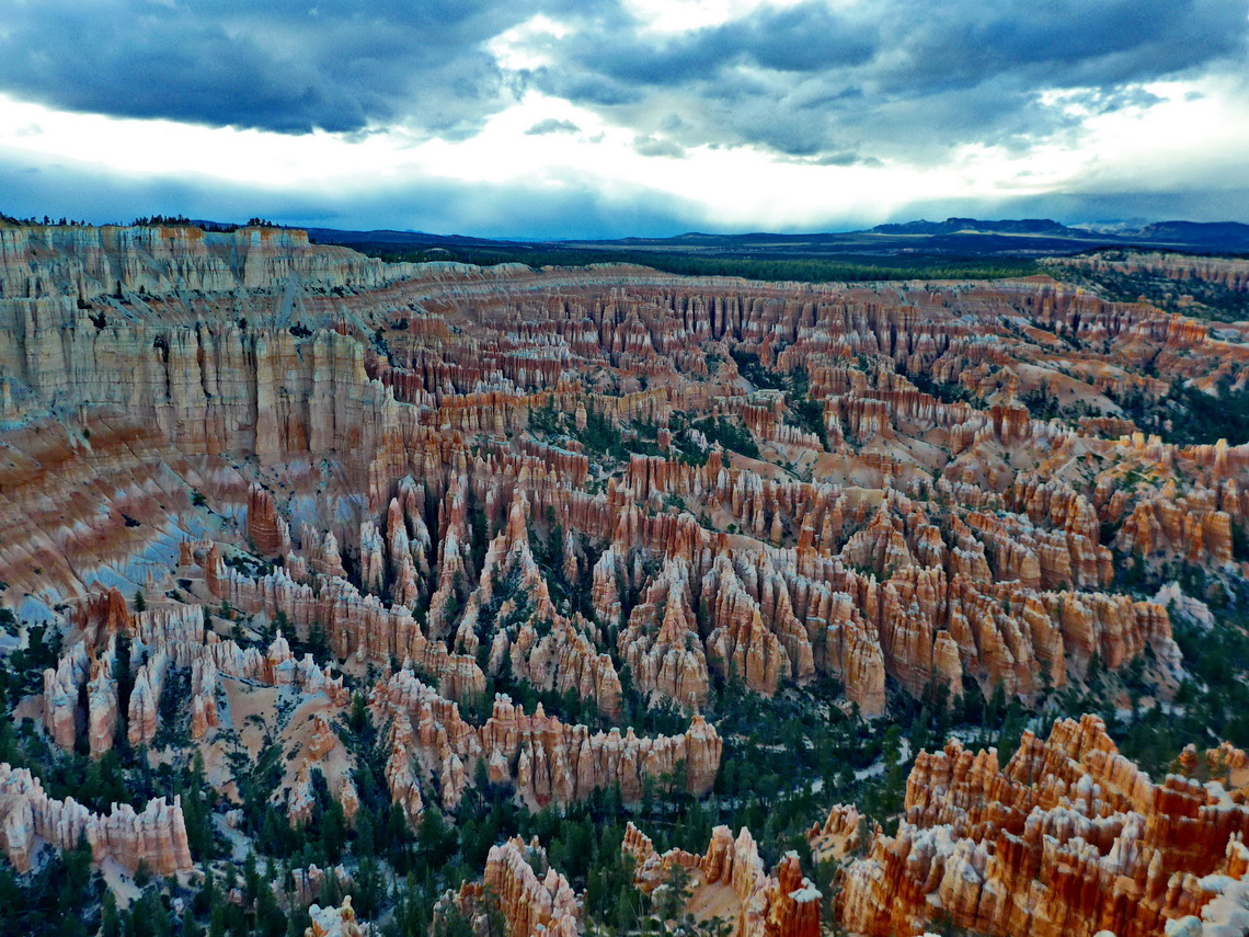 Bryce Amphitheater seen from Bryce Point