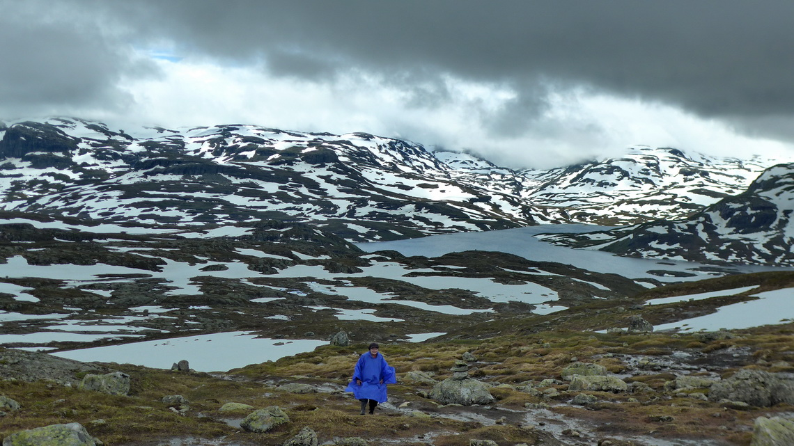 Marion in the Hardangervidda