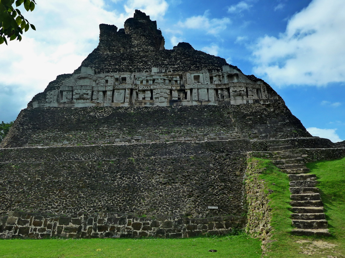 Main building of Xunantunich