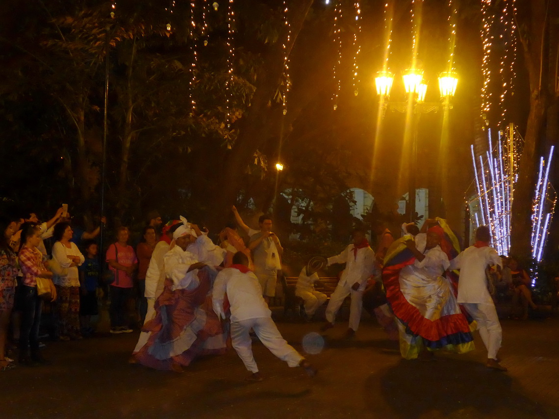 Dancing in Cartagena