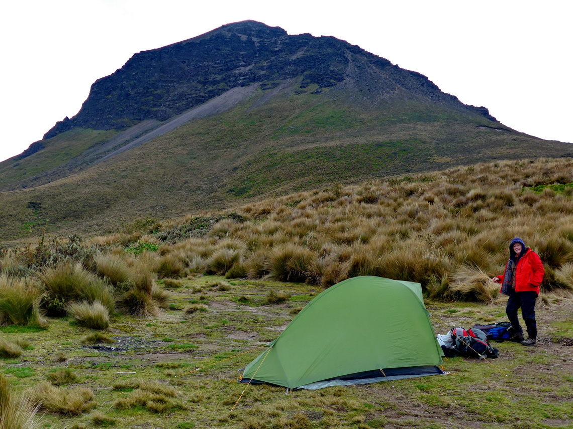 Our basecamp with Corazon