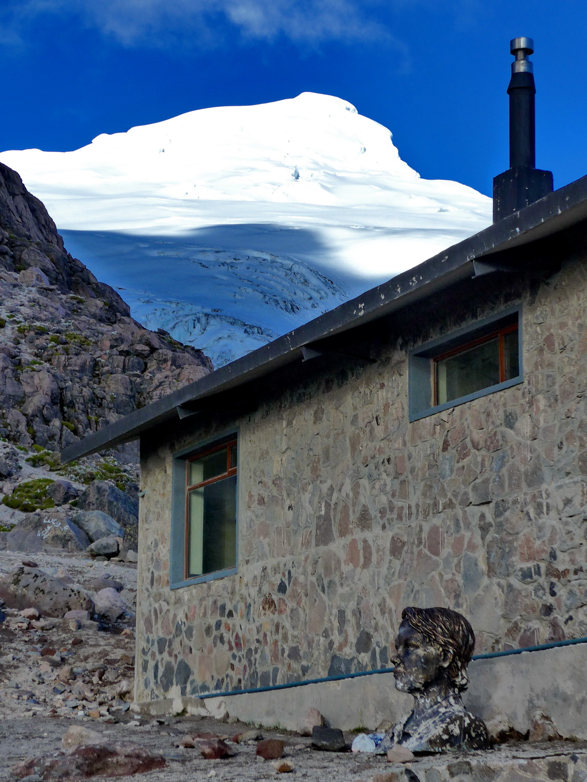 Cayambe with Refugio Oleas Ruales