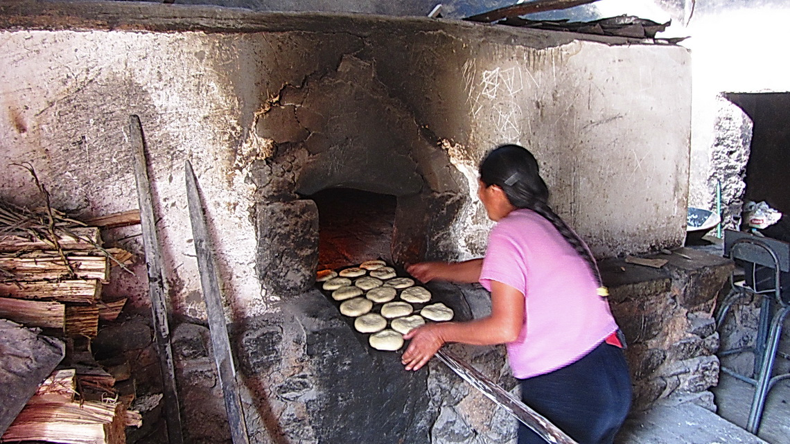 Bakery in a village between Abancay and Andahuaylas