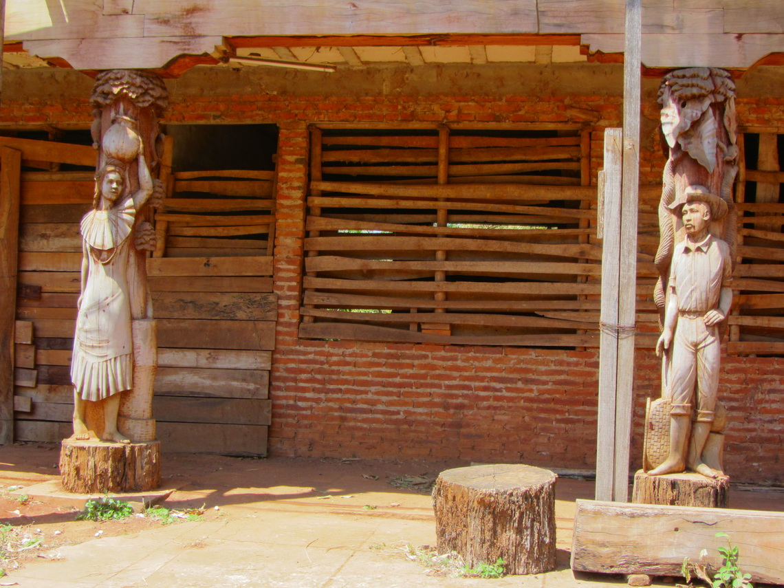 Carvings in San Ignacio