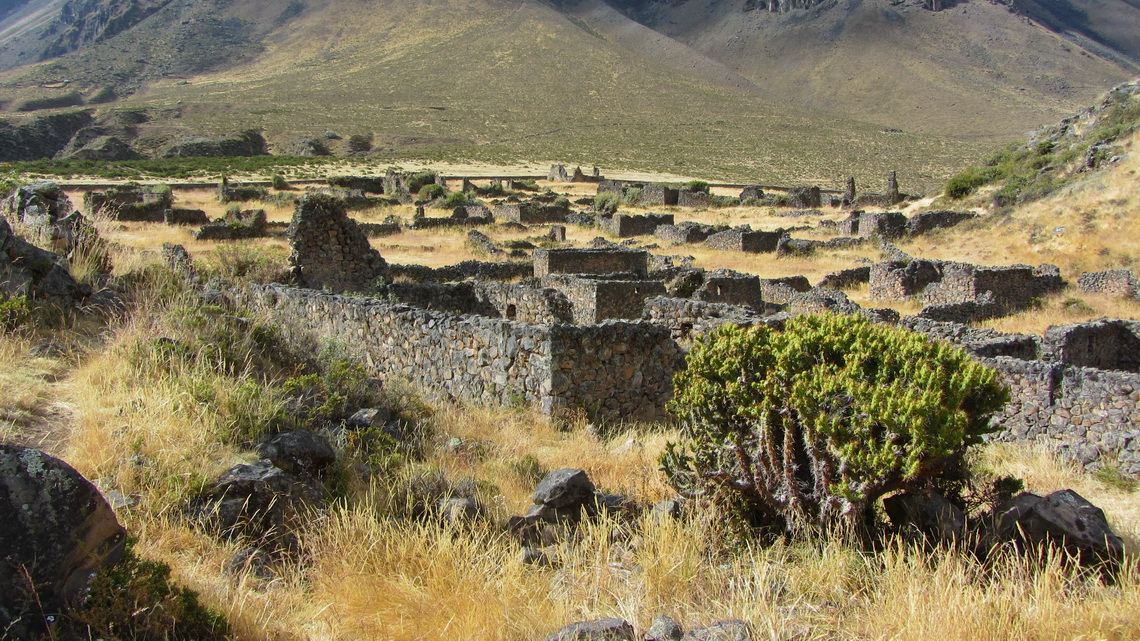 The Inca ruins of Puyca