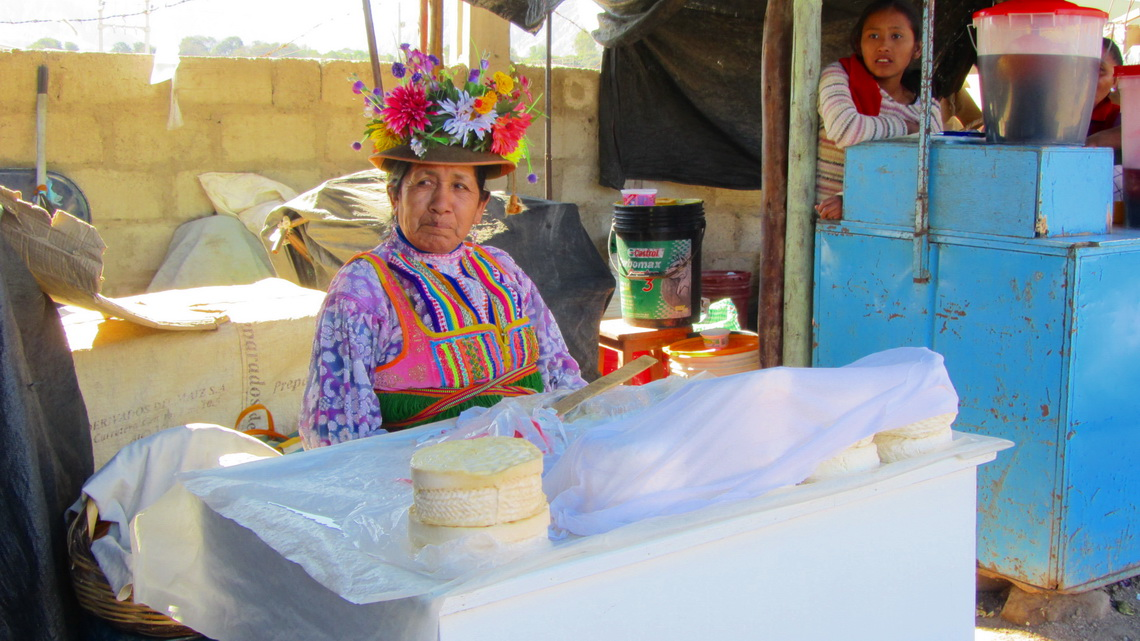 Cheese selling Lady