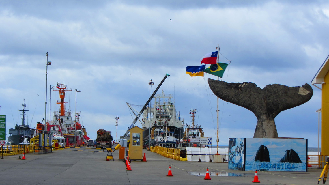 Fishing port of Punta Arenas