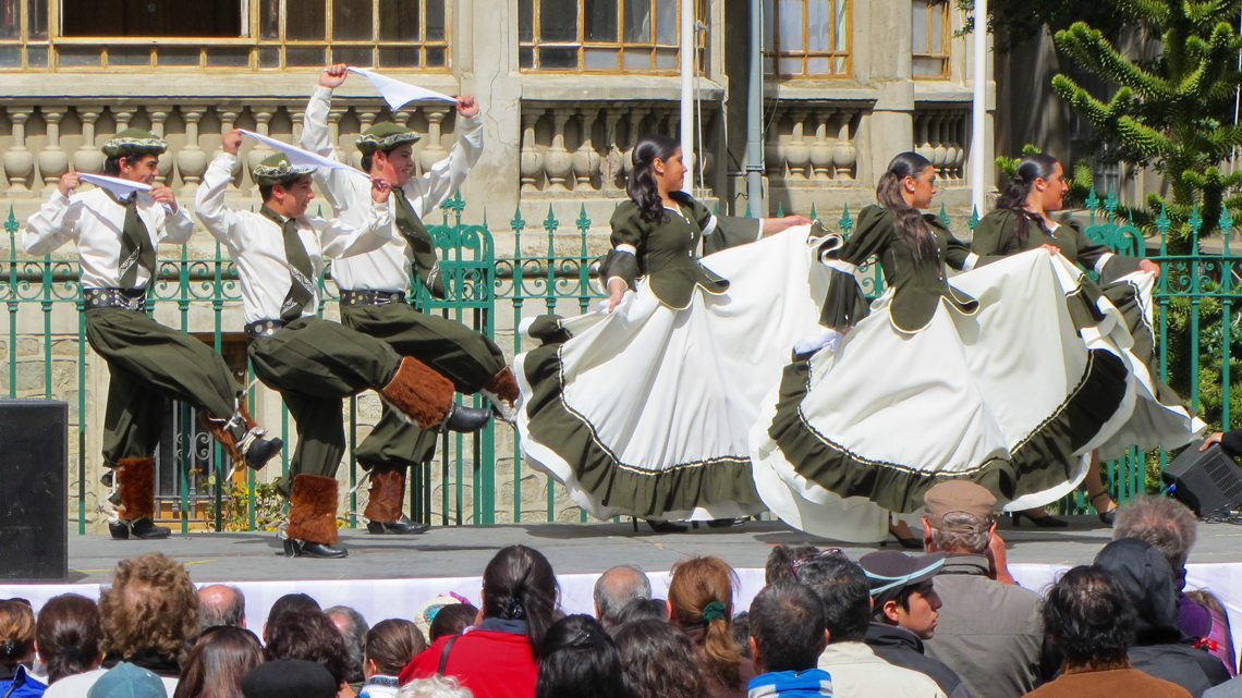 Dancing in Punta Arenas