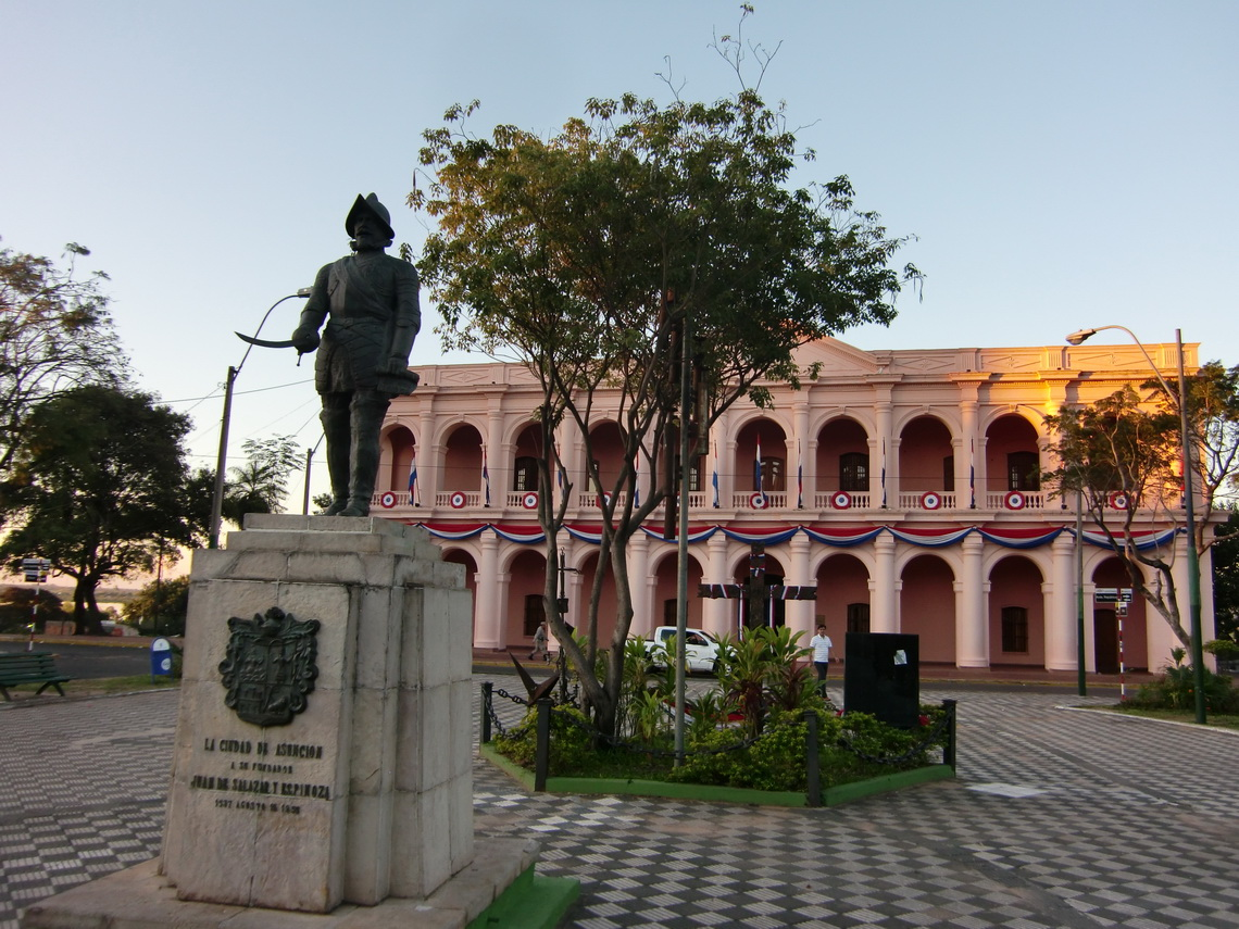 Congress building of Paraguay
