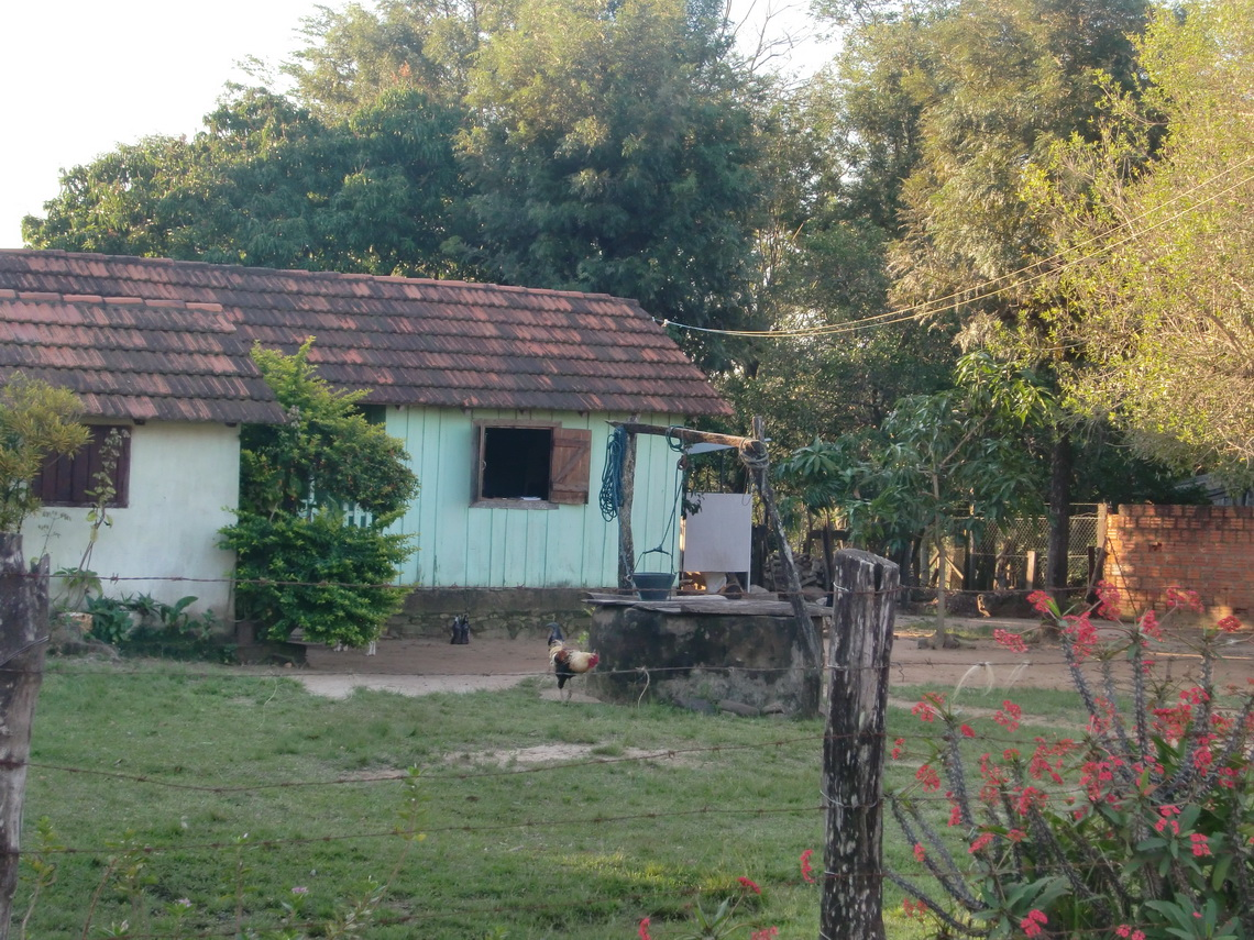 Farm in the Yvytyruzu sanctuary