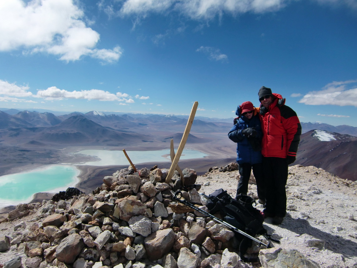 On top of Licancabur