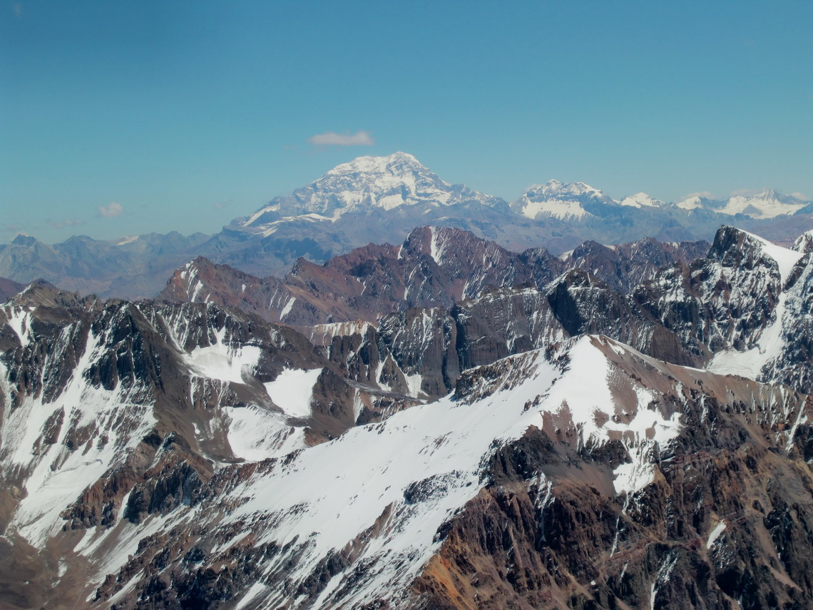 Aconcagua from Cerro Vallecitos