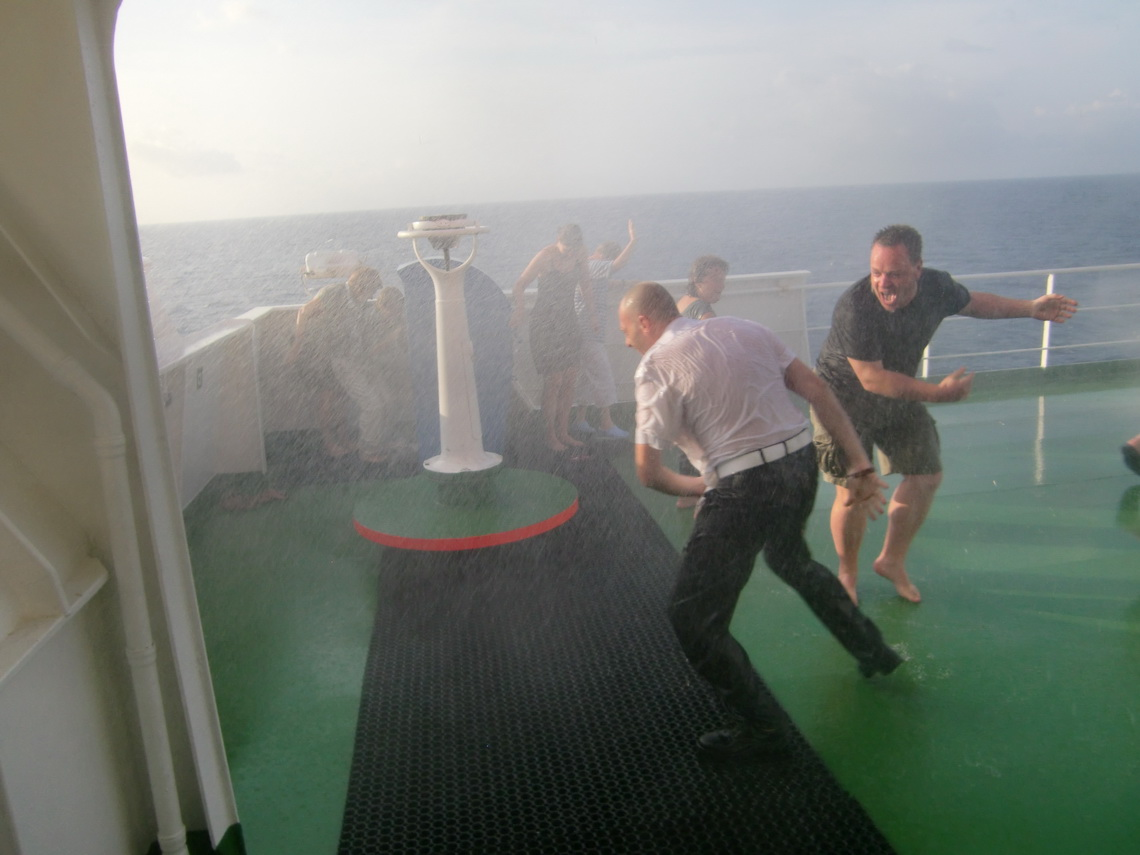 Our equator baptism
