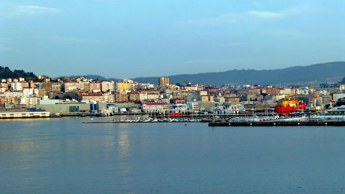 The harbor of Vigo